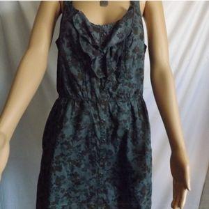 Xhilaration Ruffled Tanktop Dress